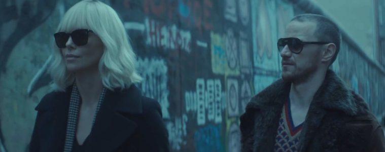 McAvoy and Theron Atomic Blonde