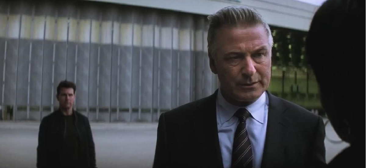 Alec Baldwin in Mission Impossible Fallout