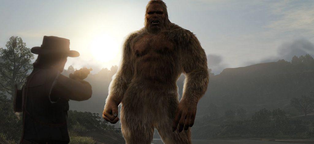 Red Dead 2 Bigfoot