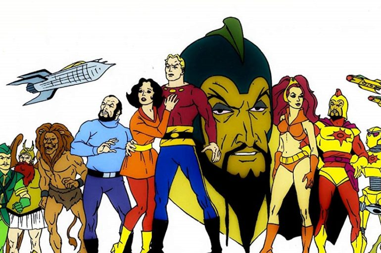 Flash Gordon Animated Header