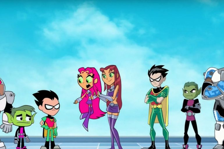 Teen Titans header